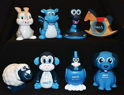 ANZ Money Boxes Chinese New Year Set 2011 To 2018
