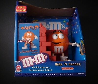 M&M Hide 'N Hander Wanted Candy Dispenser