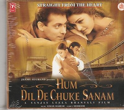Hum Dil De Chuke Sanam - salman Khan ,Aishwaria Rai   [Cd]1st edition  Released