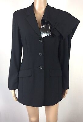 David Lawrence Size 8 Women's Works Formal 2 Pieces Suits Blazers Pants Black