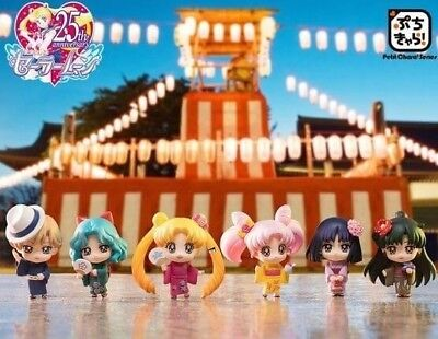 Megahouse Japan Petit Chara! Sailor Moon Gathering in Yukata Soldiers of the Out