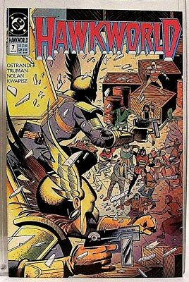 """HAWKWORLD"" Issue # 7 (January, 1991) DC Comics/ Comic Book (HAWKMAN Spin-Off)"