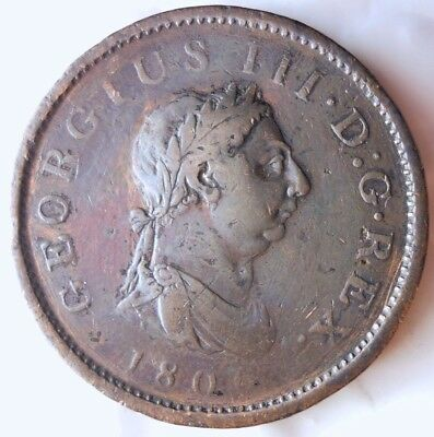 1806 GREAT BRITAIN PENNY - AWESOME COIN - Hard to Find in Grade - Lot #F17