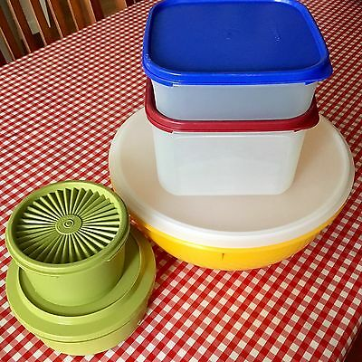TUPPERWARE Retro Vintage Storage Containers