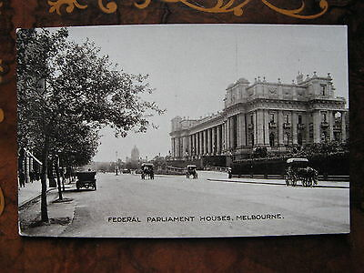 Federal Parliament (at the time) Spring St Melbourne Victoria  Australia