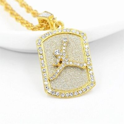 New iced out Chain with pendent, stylish sport style very icey