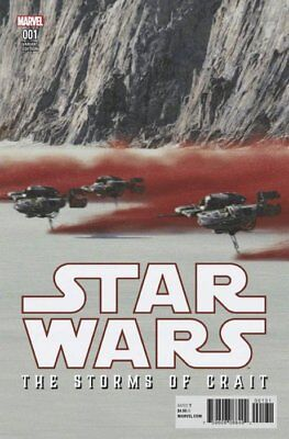 Star Wars The Last Jedi : Storms Of Crait One-Shot - Movie Photo Variant