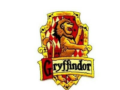 Harry Potter ecusson brodé Ecole Gryffondor blason Gryffindor school patch