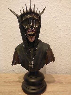 Herr der Ringe*Lord of the rings*Mouth of Sauron*Sideshow Weta*Geschenk*Büste