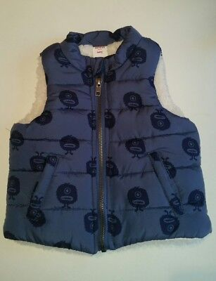 SEED HERITAGE Baby Boys Alien Puffer Vest - Size 6 - 12 months 0