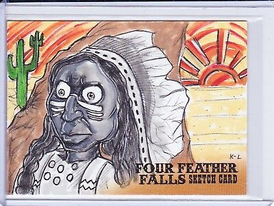 Four Feather Falls Sketch Trading Card Selection - Unstoppable Cards