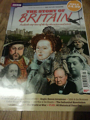 BBC History Magazine The Story Of Britain Special Bookzine Kings Queens WWI WW2