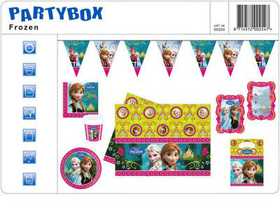 Frozen Complete Party Package - Invites Decorations Tableware