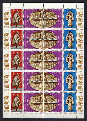 Hungary 1982. Vatican Chapel COMPLETE SHEET with 5 sets MNH (**)