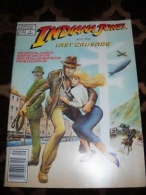 Indiana Jones and the Last Crusade #1 A Marvel Magazine