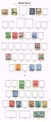 British Levant - Selection Of Good/fine Used Stamps