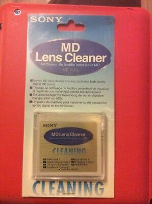 Sony MD6LCL Mini Disc Lens Cleaner (MD-6LCL) MD