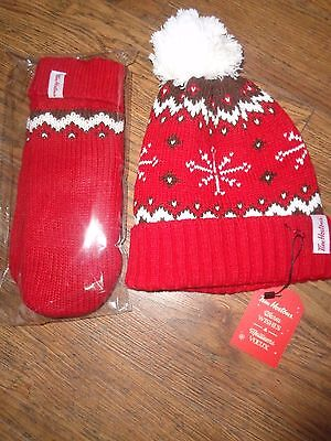 Tim Hortons Toque & Mitts - New