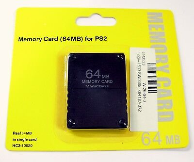 Carte memoire 64 Mo MagicGate pour Sony Playstation 2 PS2 64 Mb memory card
