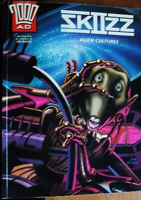 Skizz;alien Cultures;graphic Novel;2000Ad