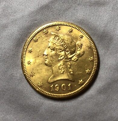 1901-S $10 Liberty Gold Coin