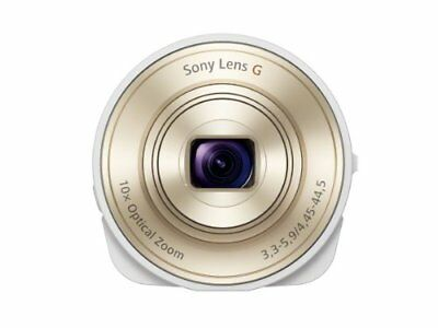 Sony Digital Camera Cyber-Shot Lens-Style Camera Qx10 White Dsc-Qx With Tracking
