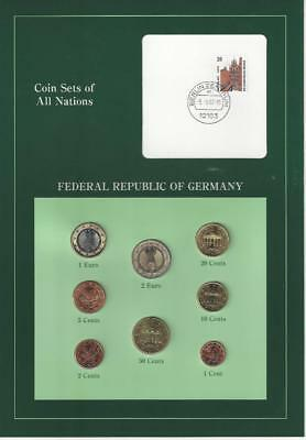 Coin Sets of All Nations - Germany, Euro