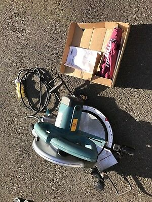 Makita Mls100 Chop Saw,mitre Saw,110 Volt Chop Saw