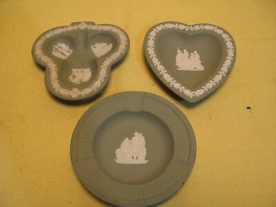 "Lot of 3 vintage wedgewood England plates 4"" plates"