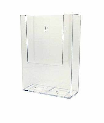 Source One 5-Pack Tall Boy TriFold Brochure Holder Wall Mount (TB-5P)