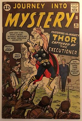 Journey Into Mystery #84 9/62 Silver Age Marvel Comics 1st JANE FOSTER Thor