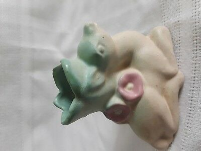 Rosemeade North Dakota Art Pottery Deer Vase