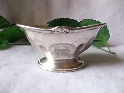 St. Francis Hotel San Francisco Antique Silverplated Candy/nut Bowl