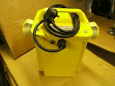 110 V Industrial Site Transformer , 2 x 16 Amp Sockets , Brand new .