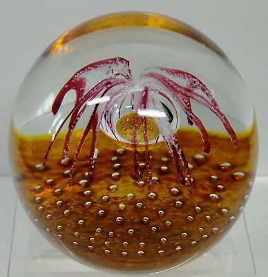 Caithness Starburst Paperweight - Limited Edition 1982 Colin Terris
