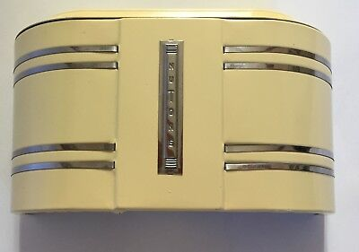 NuTone door chime with streamline/ Art Deco cover