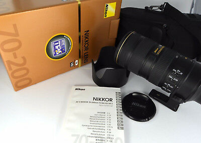 Nikon Nikkor 70-200 mm F/2.8 G VR IF ED AF-S IF-ED Objektiv