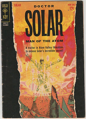 Doctor Solar Man of the Atom #2 VG 1963 Gold Key Comics Sci-Fi Dr. Science
