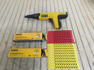 Dewalt P3500 Semi-Automatic Powder Actuated Fastening Tool - Free Shipping