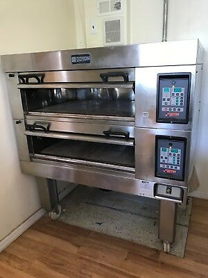 DOYON Equipment 2T-2 Double deck Artisan Stone Electric Pizza Oven BEST OFFER