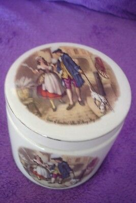 "Vintage Sandland Ware  Marmalade Pot Cries Of London ""who`ll Buy My Lavender"""