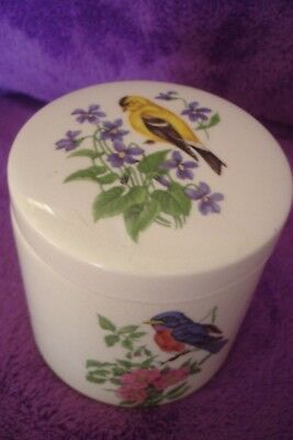 Vintage Sandland Ware  Frank Cooper Ltd  Oxford Marmalade Pot With Birds
