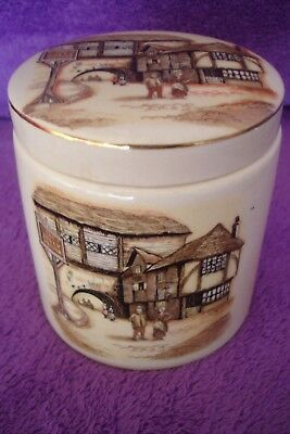 Vintage Sandland Ware Marmalade Pot The Jolly Grover