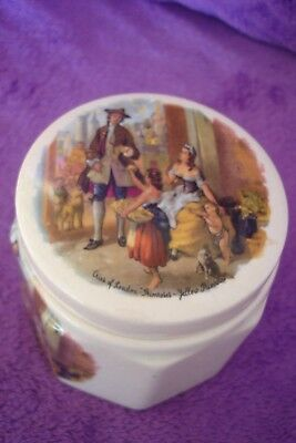 "Vintage Sandland Ware  Marmalade Pot Cries Of London ""primroses Yellow Primroses"