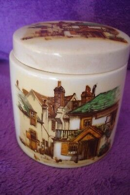 Vintage Sandland Ware Marmalade Pot Four Ways Inn