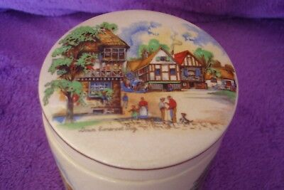 Vintage Sandland Ware  Marmalade Pot Down Somerset Way