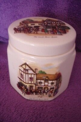 Vintage Sandland Ware Oxford Marmalade Pot The Coach House Bristol