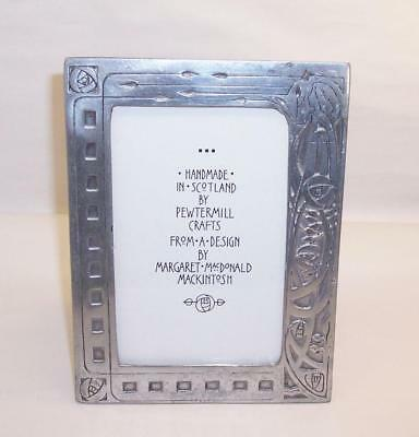 Vintage RENNIE MACKINTOSH Style PEWTER PICTURE/Photo FRAME