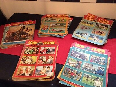 Look And Learn Magazine collection 50 issues 1965/66 Bundle 1