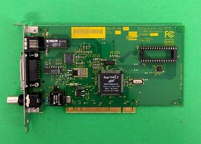 3Com EtherLink XL 3C900B-CMB  03-0148-000 Rev A XL PCI Network Card ~ Free S+H !
